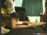 Cutie Moans Like Crazy In Her First Sextape